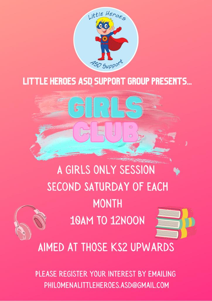Little Heroes Girl's Club @ Little Heroes ASD Support Hub