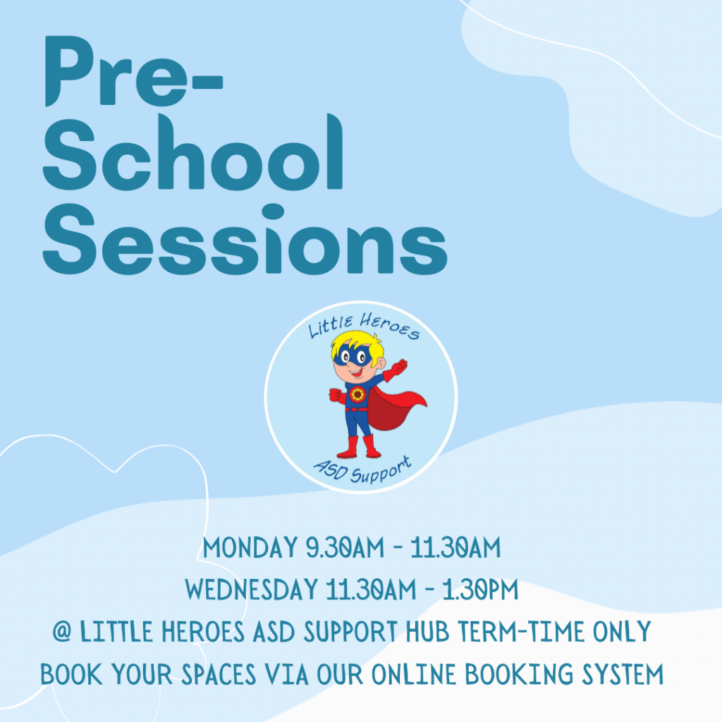 Morning Parent and Toddler @ Little Heroes ASD Support Hub