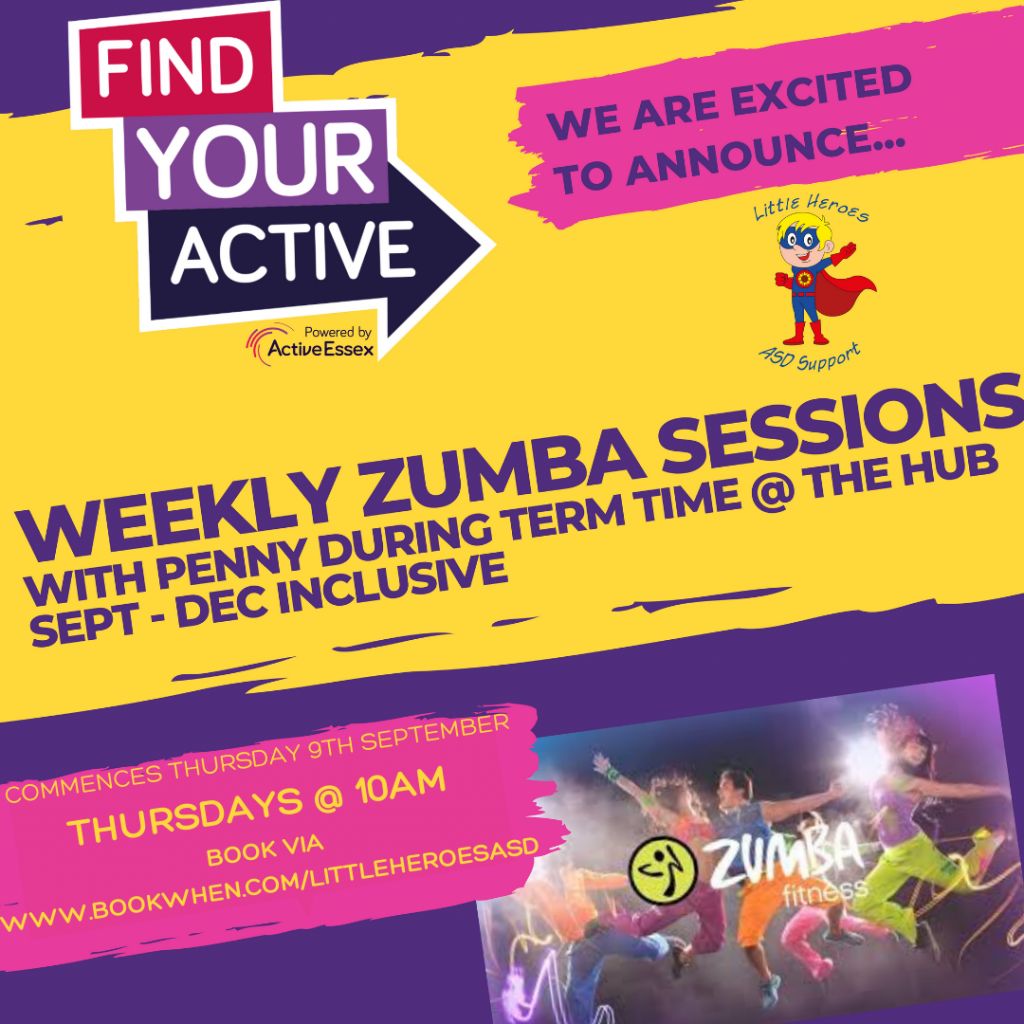 Zumba for parents and carers @ Little Heroes ASD Support Hub